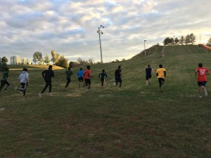 Fall Training -  Strength Enudrance -Long Hills