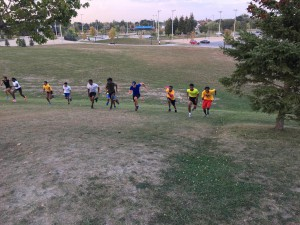 Fall Training - Short hills - Power speed